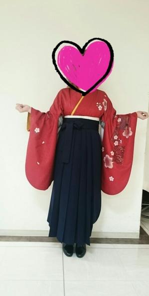 姫路理容美容専門学校 卒業式袴