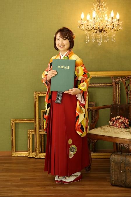 マリリンハウス 着物-370 /袴-235 Kansai