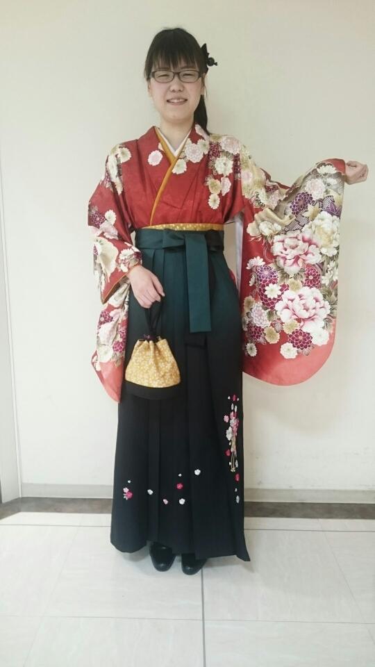 姫路獨協大学 卒業式袴